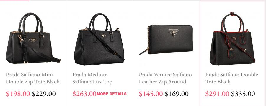 Prada High Quality Luxury Brands Replica Bags